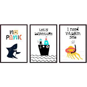 Набор из 3-х постеров Дом Корлеоне Коллаж Детский №71 40х60 см 3 шт. набор из 3 х постеров дом корлеоне коллаж детский 85 40х60 см 3 шт