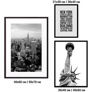 Набор из 3-х постеров Дом Корлеоне Коллаж Нью-Йорк №29 21х30 см 1 шт., 30х40 см 1 шт., 40х60 см 1шт. фото