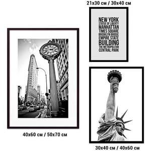 Набор из 3-х постеров Дом Корлеоне Коллаж Нью-Йорк №30 30х40 см 1 шт., 40х60 50х70 1шт.