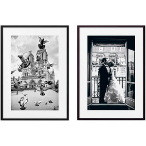 Набор из 2-х постеров Дом Корлеоне Коллаж Париж №1 21х30 см 2 шт.