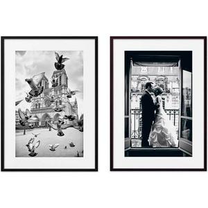 Набор из 2-х постеров Дом Корлеоне Коллаж Париж №1 50х70 см 2 шт.