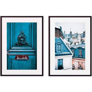 Набор из 2-х постеров Дом Корлеоне Коллаж Париж №11 21х30 см 2 шт.