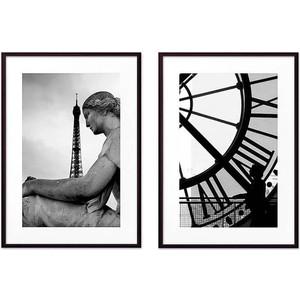 Набор из 2-х постеров Дом Корлеоне Коллаж Париж №15 50х70 см 2 шт.