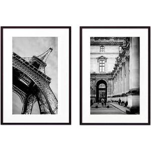 Набор из 2-х постеров Дом Корлеоне Коллаж Париж №18 50х70 см 2 шт.