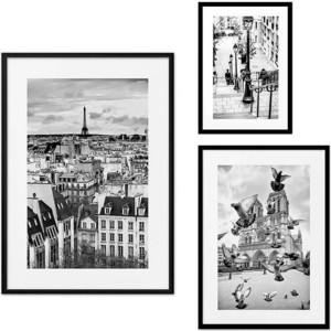 Набор из 3-х постеров Дом Корлеоне Коллаж Париж №28 30х40 см 1 шт., 40х60 50х70 1шт.