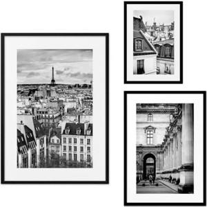 Набор из 3-х постеров Дом Корлеоне Коллаж Париж №30 21х30 см 1 шт., 30х40 40х60 1шт.