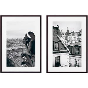 Набор из 2-х постеров Дом Корлеоне Коллаж Париж №7 50х70 см 2 шт.