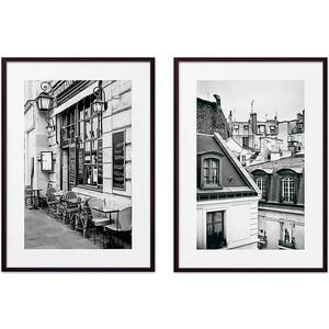 Набор из 2-х постеров Дом Корлеоне Коллаж Париж №9 50х70 см 2 шт.