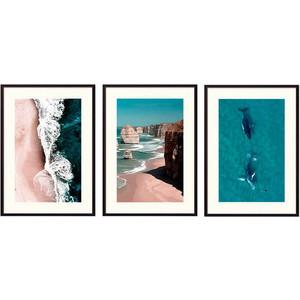 Набор из 3-х постеров Дом Корлеоне Коллаж Природа №140 50х70 см 3 шт. набор из 3 х постеров дом корлеоне коллаж природа 143 50х70 см 3 шт