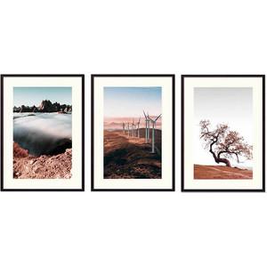 Набор из 3-х постеров Дом Корлеоне Коллаж Природа №153 30х40 см 3 шт. набор из 3 х постеров дом корлеоне коллаж природа 143 30х40 см 3 шт