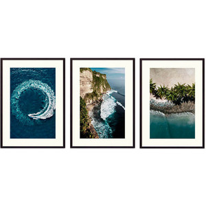 Набор из 3-х постеров Дом Корлеоне Коллаж Природа №160 30х40 см 3 шт. набор из 3 х постеров дом корлеоне коллаж природа 143 30х40 см 3 шт
