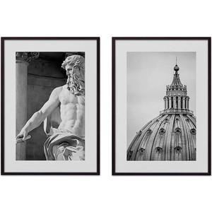 Набор из 2-х постеров Дом Корлеоне Коллаж Рим №10 50х70 см 2 шт.