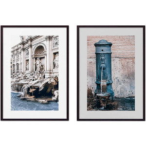 Набор из 2-х постеров Дом Корлеоне Коллаж Рим №11 30х40 см 2 шт.