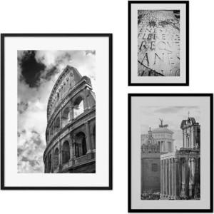 Набор из 3-х постеров Дом Корлеоне Коллаж Рим №16 21х30 см 1 шт., 30х40 см 1 шт., 40х60 см 1шт. фото
