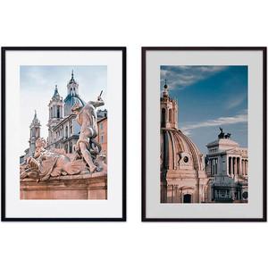 цена Набор из 2-х постеров Дом Корлеоне Коллаж Рим №2 50х70 см 2 шт. онлайн в 2017 году