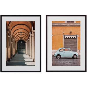 Набор из 2-х постеров Дом Корлеоне Коллаж Рим №3 50х70 см 2 шт.