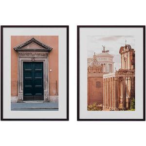 Набор из 2-х постеров Дом Корлеоне Коллаж Рим №7 30х40 см 2 шт.