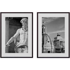 Набор из 2-х постеров Дом Корлеоне Коллаж Рим №9 30х40 см 2 шт.