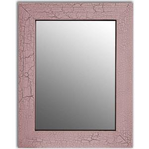 Настенное зеркало Дом Корлеоне Кракелюр Розовый 50x65 см