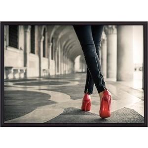 Постер в рамке Дом Корлеоне Красные туфли 40x60 см фото