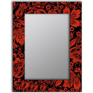 Настенное зеркало Дом Корлеоне Красные цветы 50x65 см
