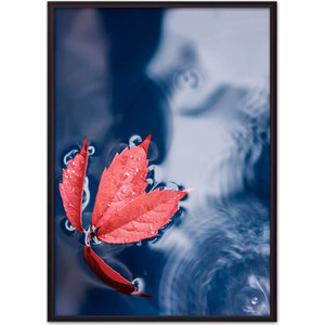 Постер в рамке Дом Корлеоне Красный листок 40x60 см