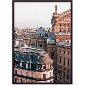 Постер в рамке Дом Корлеоне Крыши Париж 50x70 см постер в рамке дом корлеоне крыши париж 21x30 см