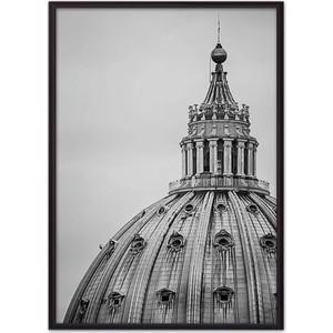 Постер в рамке Дом Корлеоне Купол Собора 40x60 см