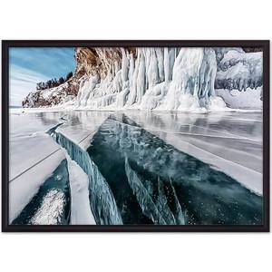 Постер в рамке Дом Корлеоне Ледяное озеро 30x40 см