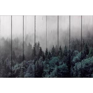Картина на дереве Дом Корлеоне Лес 80x120 см фото