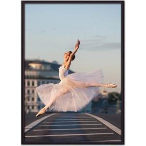 Постер в рамке Дом Корлеоне Летящая балерина 50x70 см бош д неподвижно летящая стрела isbn 9785271451874