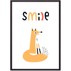 Постер в рамке Дом Корлеоне Лиса Smile 30x40 см