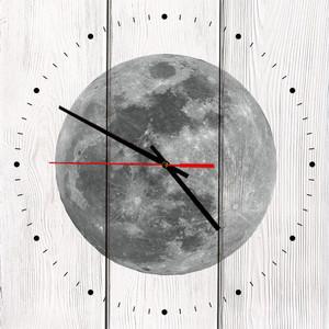 Настенные часы Дом Корлеоне Луна 50x50 см фото