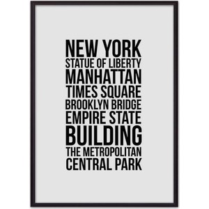 Постер в рамке Дом Корлеоне Лучшее Нью-Йорке 21x30 см
