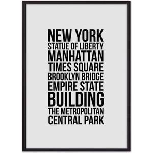 Постер в рамке Дом Корлеоне Лучшее Нью-Йорке 30x40 см