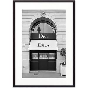 Постер в рамке Дом Корлеоне Магазин Диор 21x30 см профф магазин косметики