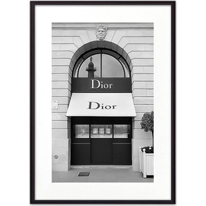 Постер в рамке Дом Корлеоне Магазин Диор 30x40 см