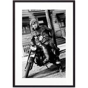Постер в рамке Дом Корлеоне Марлон Брандо 21x30 см фото