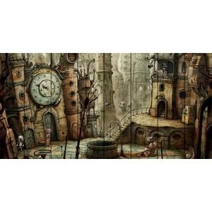 Картина на дереве Дом Корлеоне Машинариум 70x140 см