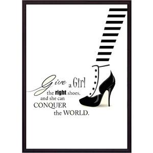Постер в рамке Дом Корлеоне Модная обувь 30x40 см