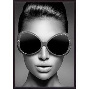 Постер в рамке Дом Корлеоне Модные очки 30x40 см модные юбки