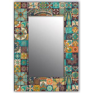 Настенное зеркало Дом Корлеоне Мозаика 65x65 см