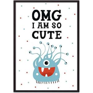 Постер в рамке Дом Корлеоне Монстр Cute 30x40 см
