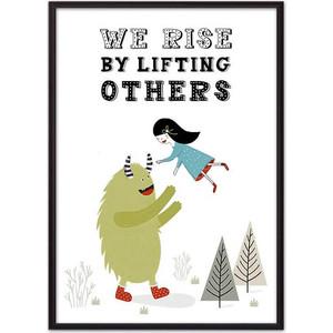 Постер в рамке Дом Корлеоне Монстр We rise... 50x70 см