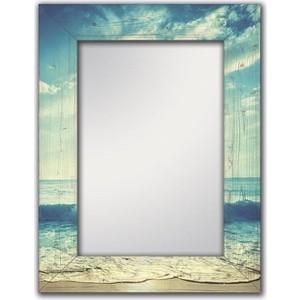 Настенное зеркало Дом Корлеоне Море 90x90 см