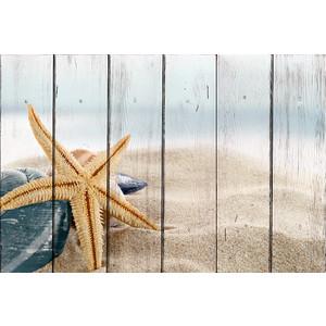 Картина на дереве Дом Корлеоне Морская звезда 60x90 см
