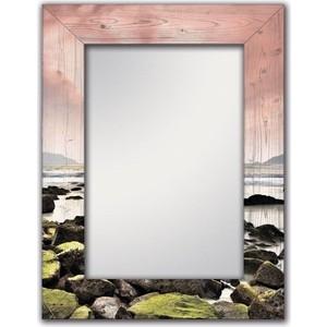 Настенное зеркало Дом Корлеоне Морской закат 75x170 см фото