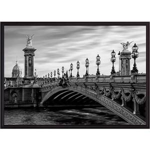 Постер в рамке Дом Корлеоне Мост Александра III 50x70 см