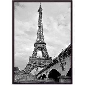 Постер в рамке Дом Корлеоне Мост и Эйфелева башня 21x30 см