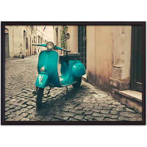 Постер в рамке Дом Корлеоне Мотороллер Рим 21x30 см